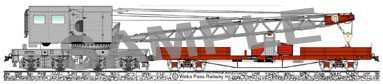 Fridge Magnet – Rail Crane EL1007