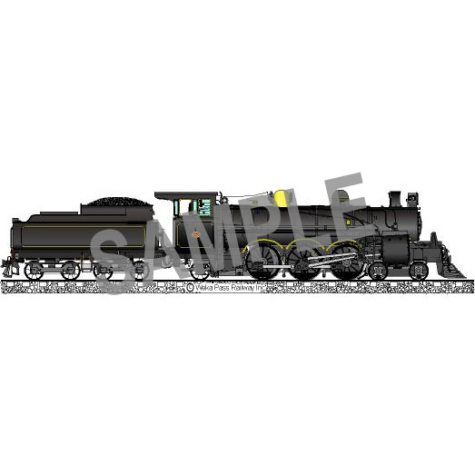 Fridge Magnet – Steam Locomotive A428