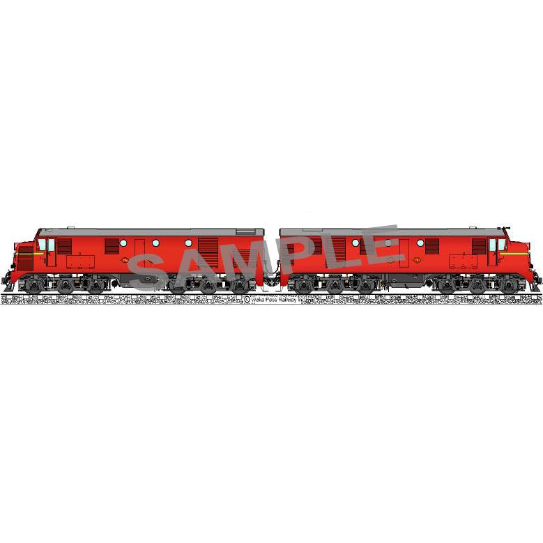 Fridge Magnet – Diesel Locomotives Dg770 & 791